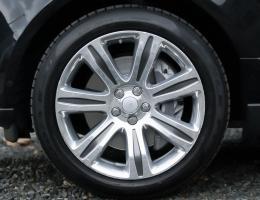 ДИСКИ В КОВАНОМ (forged wheels) ИСПОЛНЕНИИ с SVAutobiography / Supercharged R21/22 Style 706, HIGH GLOSS SILVER POLISHED FINISH для RANGE ROVER SPORT HSE DINAMIC в параметрах для LAND ROVER LONG (LWB / SWB) и VOQUE