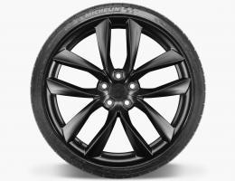 КОВАНЫЕ (forged wheels)  КОЛЕСНЫЕ ДИСКИ R20/21 c TESLA S модель ARACHNID BLACK / SILVER так же MODEL 3, Y, X